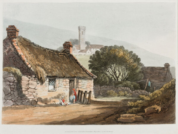 PROUT Samuel O.W.S. (1783-1852) - Hand coloured aquatint.