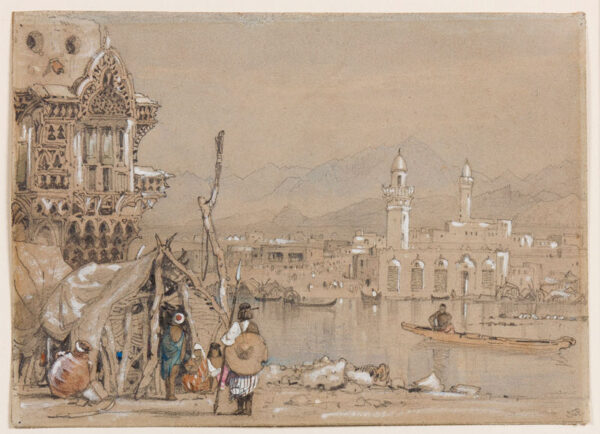 PROUT Samuel Gillespie (1822-1911) - A Turkish Port.