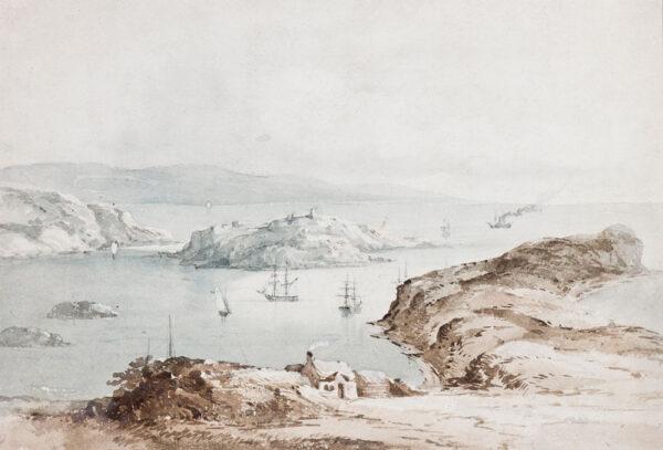 PROUT Samuel Gillespie (1822-1911) - The Cornish Coast.
