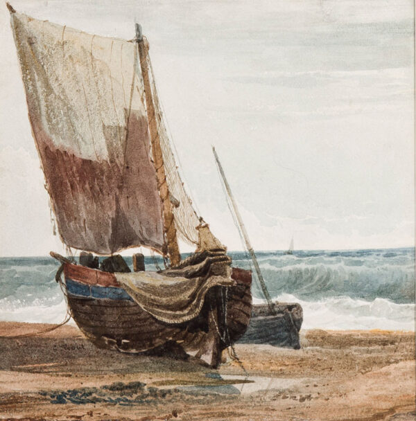 PROUT Samuel O.W.S. (1783-1852) - The beach at Hastings.