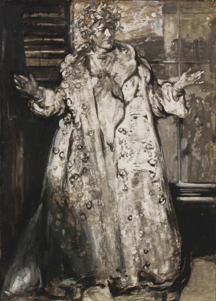 PRYDE James I.S. (1866-1941) - Ellen Terry as 'Nance Oldfield'.