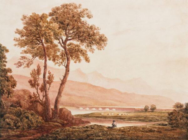 VARLEY John O.W.S. (1778-1842) (Pupil of) - Welsh capriccio.