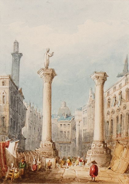 PURSER William (1790-1852) - 'Vicenza'.