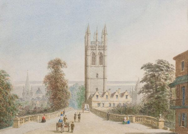 PYNE George (1800-1884) - Oxford.