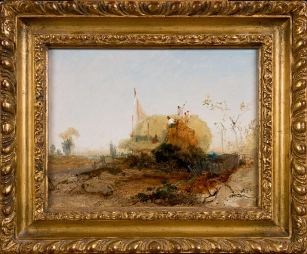 PYNE James Baker (1800-1870) - The hay stack.
