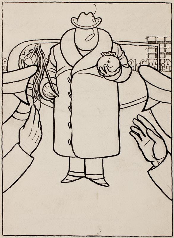'QUIZ' (Powys Evans) (1899-1981) - 'The Capitalist'.