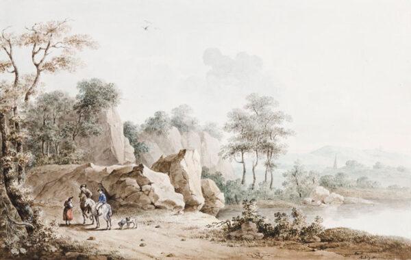 RABIGOT Prof Gabriel Jean (1753-1834) - Capriccio.