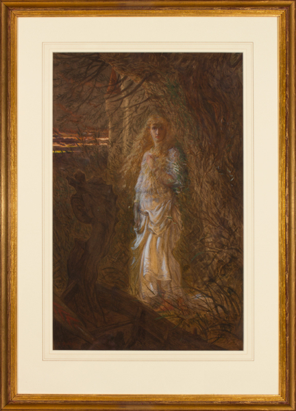 RADFORD Edward (1831-1920) - 'The Lady of Shalott'.