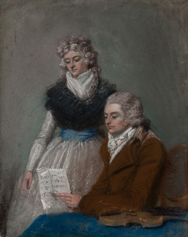 "RAPHAEL SMITH John (1752-1812) - Pastels/paper laid""https://abbottandholder-thelist."