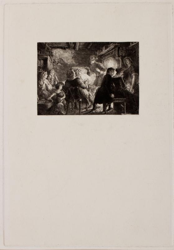 REDGRAVE Richard R.A. (1804-1888) - The Letter.