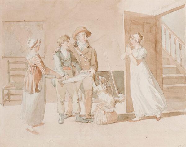 REINAGLE Richard Ramsay R.A. (1775-1862) - Hertfordshire.