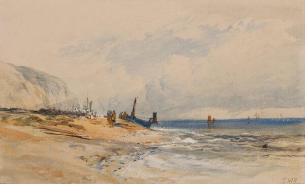 RICHARDSON Thomas Miles Jnr R.W.S. (1813-1890) - Sussex.
