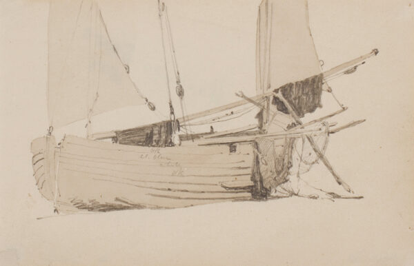 PROUT Samuel O.W.S. (1783-1852) - Pencil and watercolour.