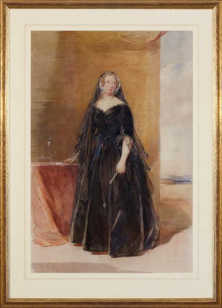 RICHMOND George R.A. (1809-1896) - 'Lady Nasmyth'.