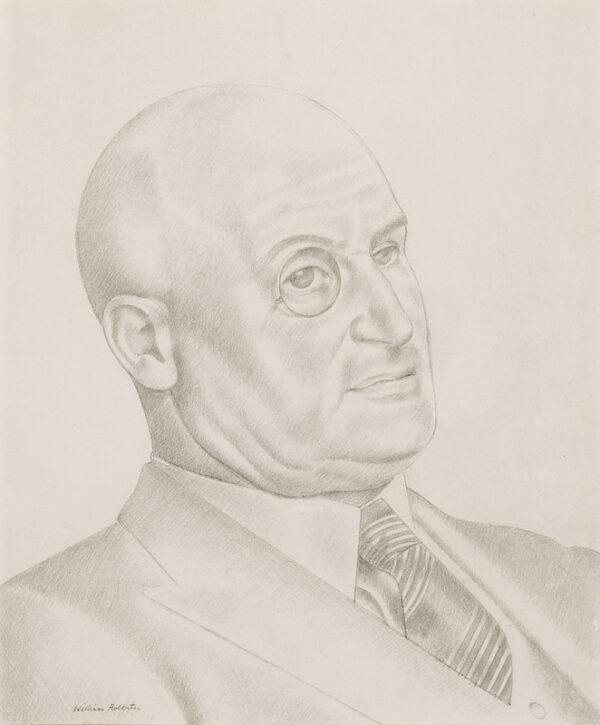 ROBERTS William (1895-1980) - Major E.