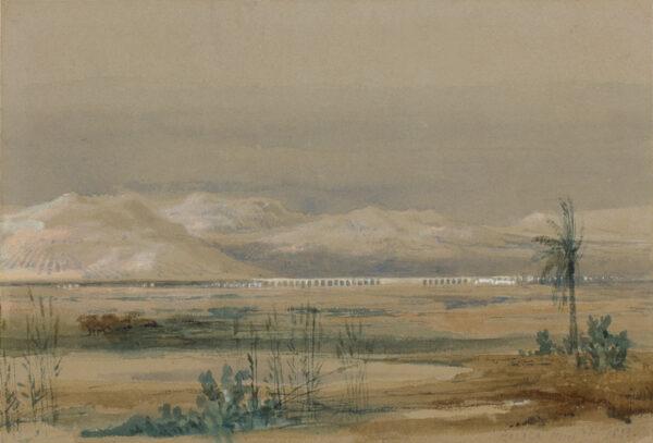 ROBERTS David R.A. (1796-1864) - 'Malaga'.