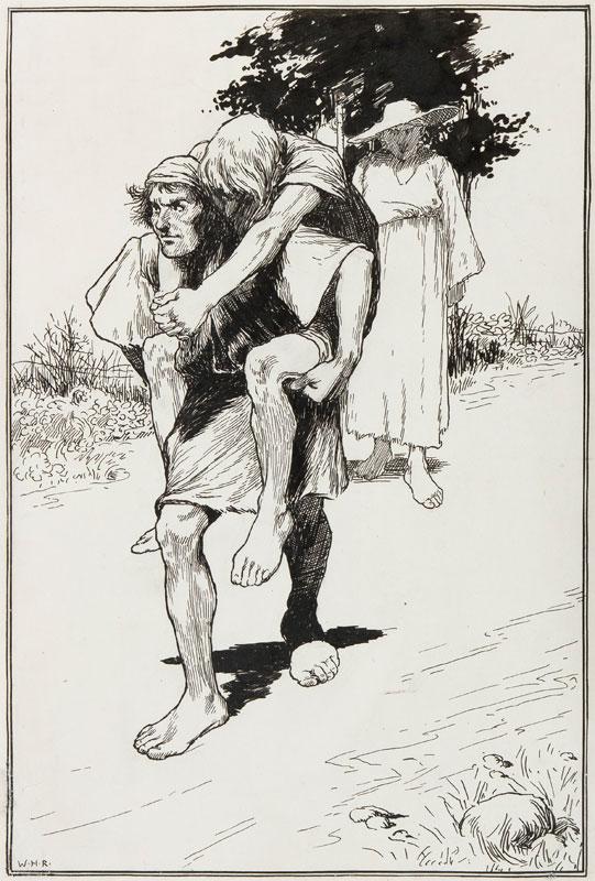 ROBINSON William Heath (1872-1944) - Pen and ink.