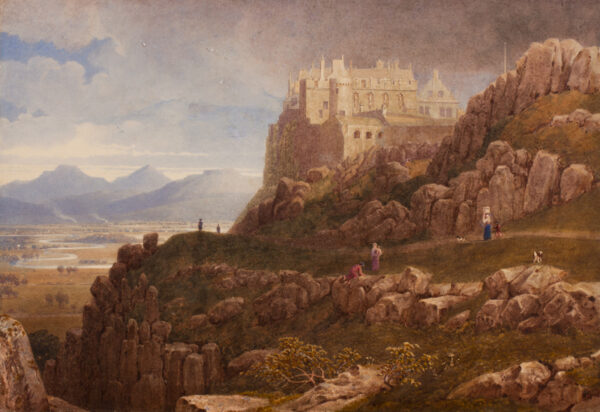 ROBSON George Fennel P.O.W.S. (1788-1833) - Stirling Castle.