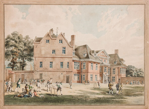 ROOKER Michael Angelo (1746-1801) After - The Manor of Marylebone as a school.