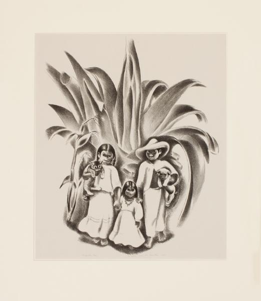 ROSENTHAL Doris (1889-1971) - 'Chiguillos'.
