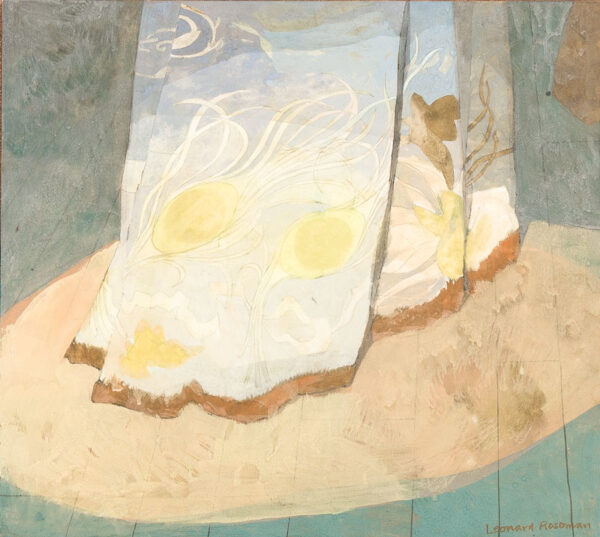 ROSOMAN Leonard R.A. (1913-2012) - Study, possibly for a mural.