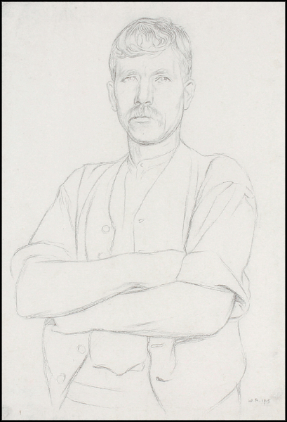 ROTHENSTEIN Sir William N.E.A.C. (1872-1945) - A Working Man.