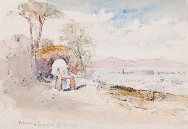 ROWBOTHAM Charles (1858-1921) - Sicily.