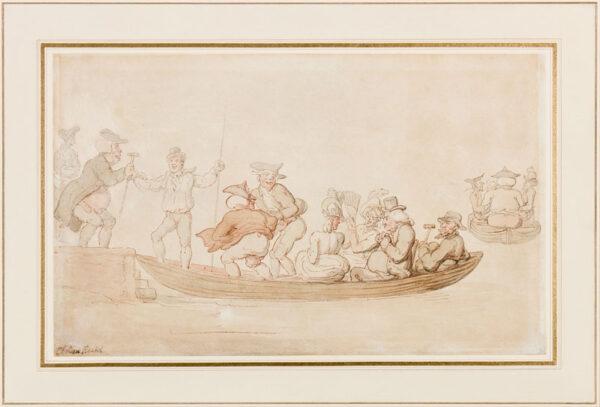 ROWLANDSON Thomas (1756-1827) - London.