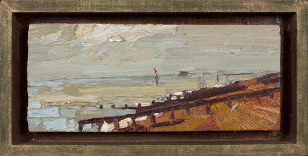 ROWLETT George (b.1941) - 'Small seascape'.