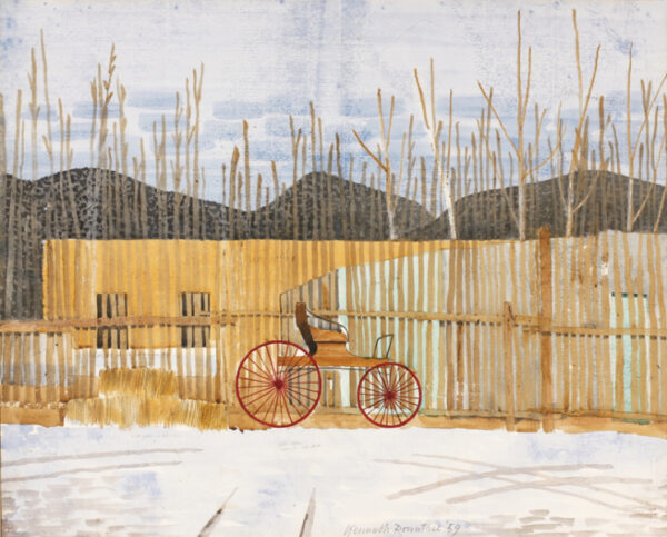 ROWNTREE Kenneth (1915-1997) - Taos, New Mexico.