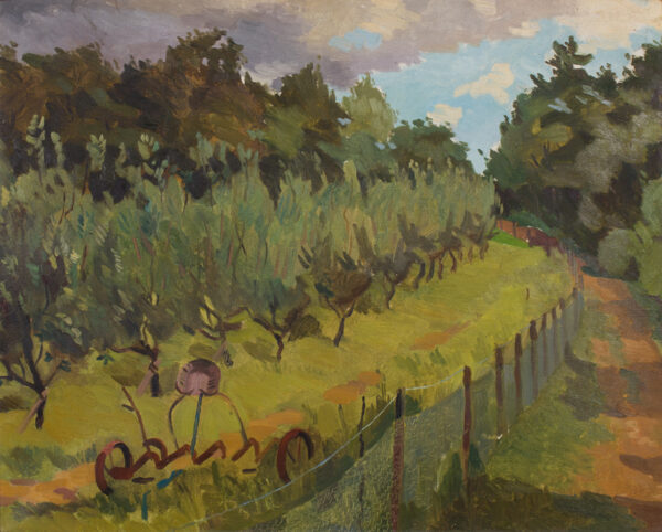 ROWNTREE Kenneth (1915-1997) - The young orchard.