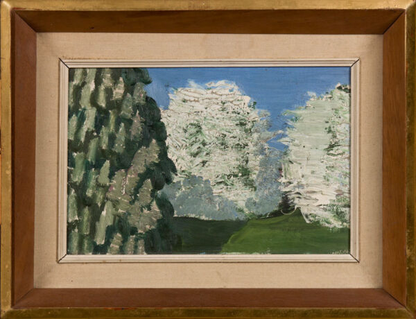 ROWNTREE Kenneth (1915-1997) - 'Hawthorn and Chestnut'.