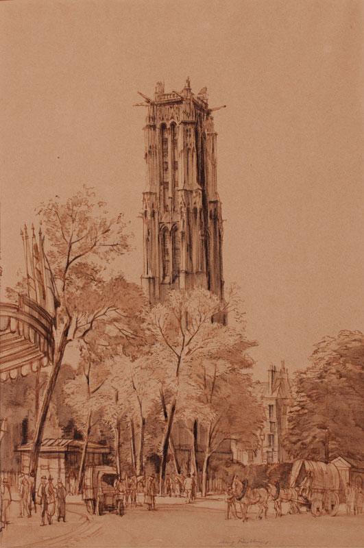 RUSHBURY Sir Henry R.A. R.E. (1889-1968) - Paris.