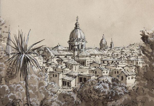 RUST Graham (b.1942) - 'Rome'.