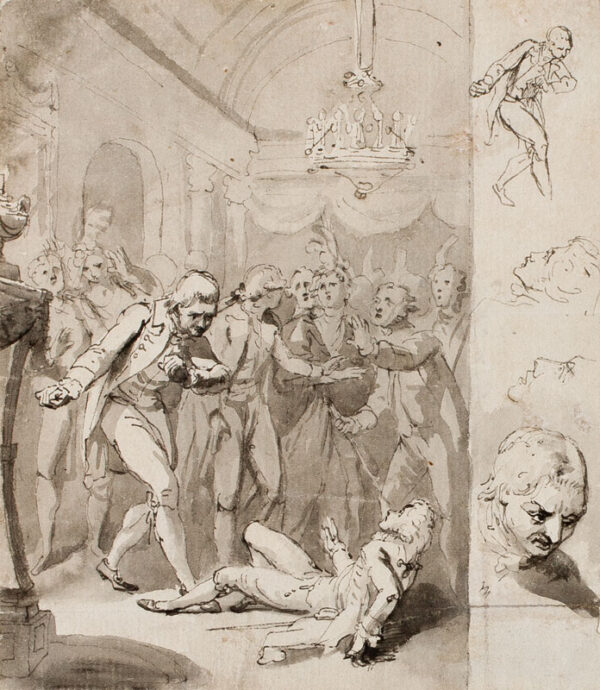 RYLEY Charles Reuben (c.1752-1798) - 'Saturday Morning'.