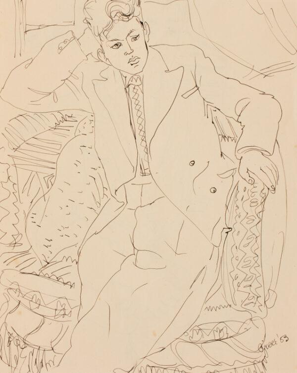 SAMUELSON Peter (1912-1986) - 'Pierre'.