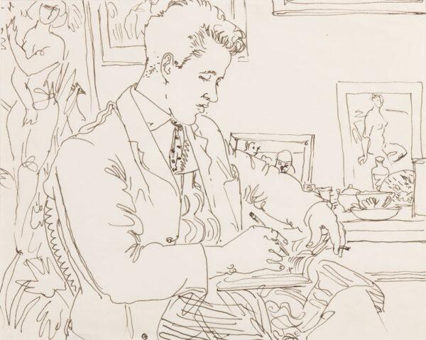 SAMUELSON Peter (1912-1986) - Studio Study.
