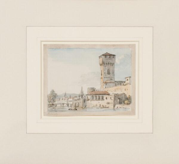 SANDBY Paul R.A. (1731-1809) - Italianate capriccio.