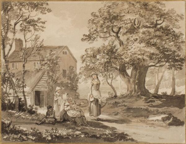 SANDBY Paul R.A. (1731-1809) - Et in Arcadia.