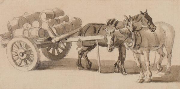SANDBY Paul R.A. (1731-1809) - 'Rest time'.