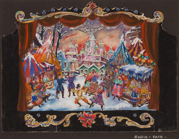 SCHICK Heidi (1870-1946) - 'Russia – Fair'.