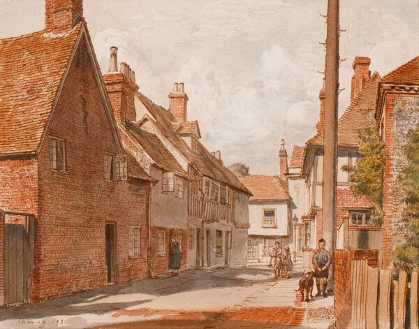 SCHWABE Professor Randolph N.E.A.C. (1885-1948) - 'Charing', Kent.