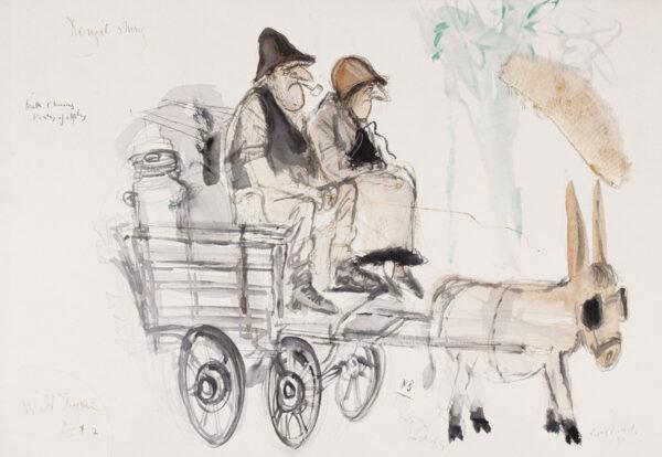 SEARLE Ronald C.B.E. (1920-2011) - 'Denzil and Mary / Wild Thyme / Act 2'.