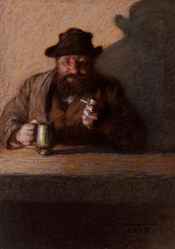 SENIOR Mark (1864-1927) - 'At the Bar'.