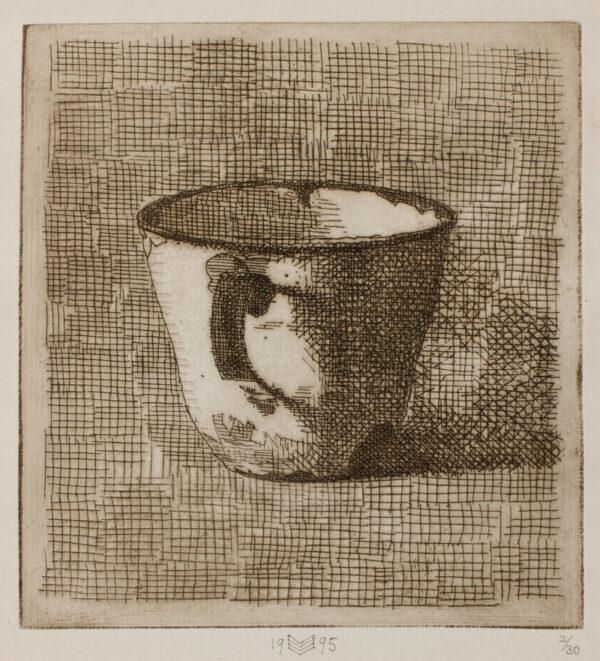 SERGEANT John (1937-2010) - 'Enamelled Cup'.