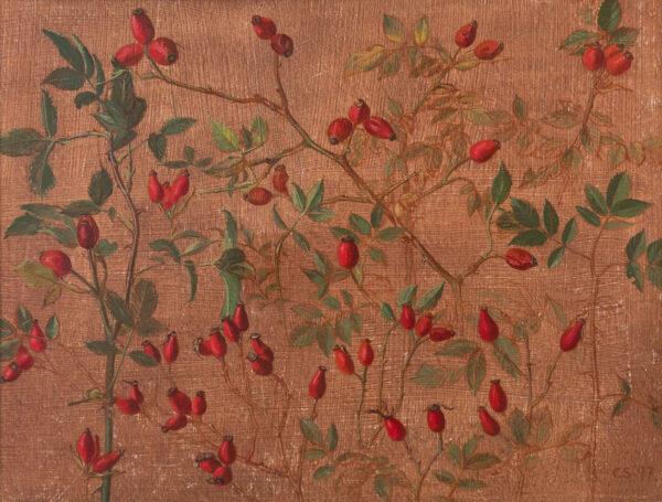 SERGEANT Carolyn (1937- c.2012) - '…the leaf, the bud, the flower…'.