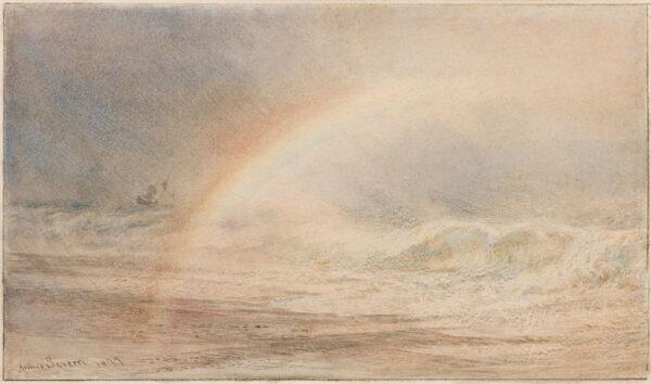 SEVERN Arthur R.I. R.O.I. (1842-1931) - 'A Day of Hope'.