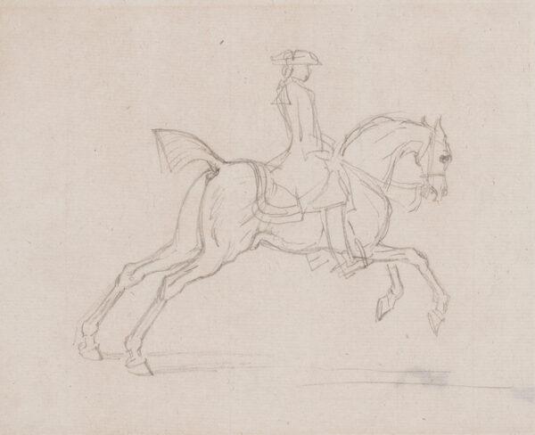 SEYMOUR James (c.1702-1752) - A gallop.