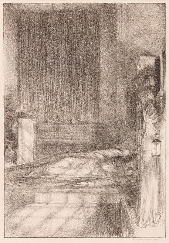 SHANNON Charles Hazelwood R.A. (1863-1937) - 'White Nights' (R.