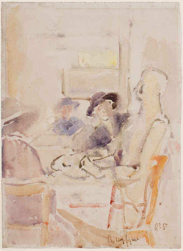 SICKERT Walter Richard R.A. N.E.A.C. (1860-1942) - 'The Lay Figure'.